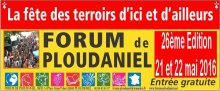 Forum Ploudaniel 2016
