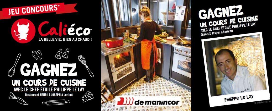 Calieco jeu-concours gagnez un cours de cuisine